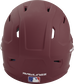 Back of a maroon MACH high performance helmet with the Official Batting Helmet of MLB logo image number null