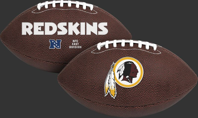 NFL Washington Redskins Air-It-Out youth football with team name and logo SKU #08041087121