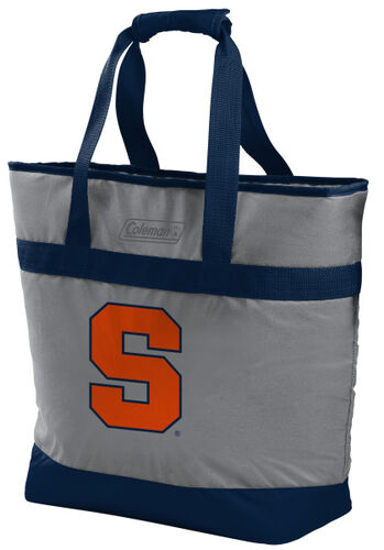 Rawlings Syracuse Orange 30 Can Tote Cooler In Team Colors With Team Logo On Front SKU #07883060111