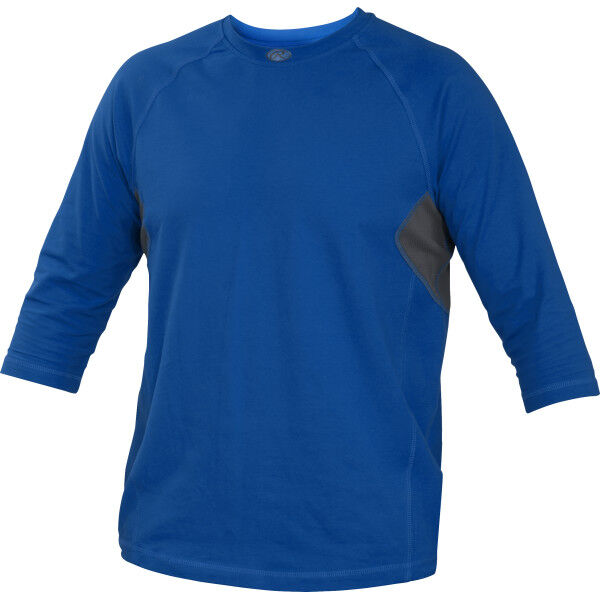 Adult 3/4 Length Sleeve Shirt Royal