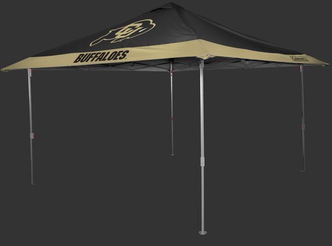 Rawlings Gold and Black NCAA Colorado Buffaloes 10x10 Eaved Canopy With Team Logo and Name SKU #07843071111