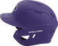 MACH Rawlings batting helmet with a one-tone matte purple shell image number null