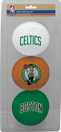 NBA Boston Celtics Three-Point Softee Basketball Set