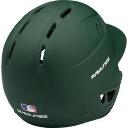 Coolflo High School/College Matte Batting Helmet Dark Green
