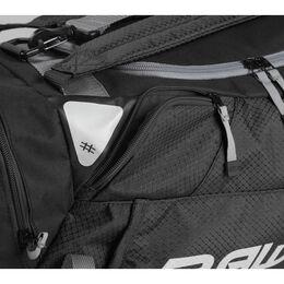 Hybrid Backpack/Duffel Players Bag Black