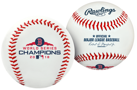 2018 Boston Red Sox World Series Champion Replica Baseball
