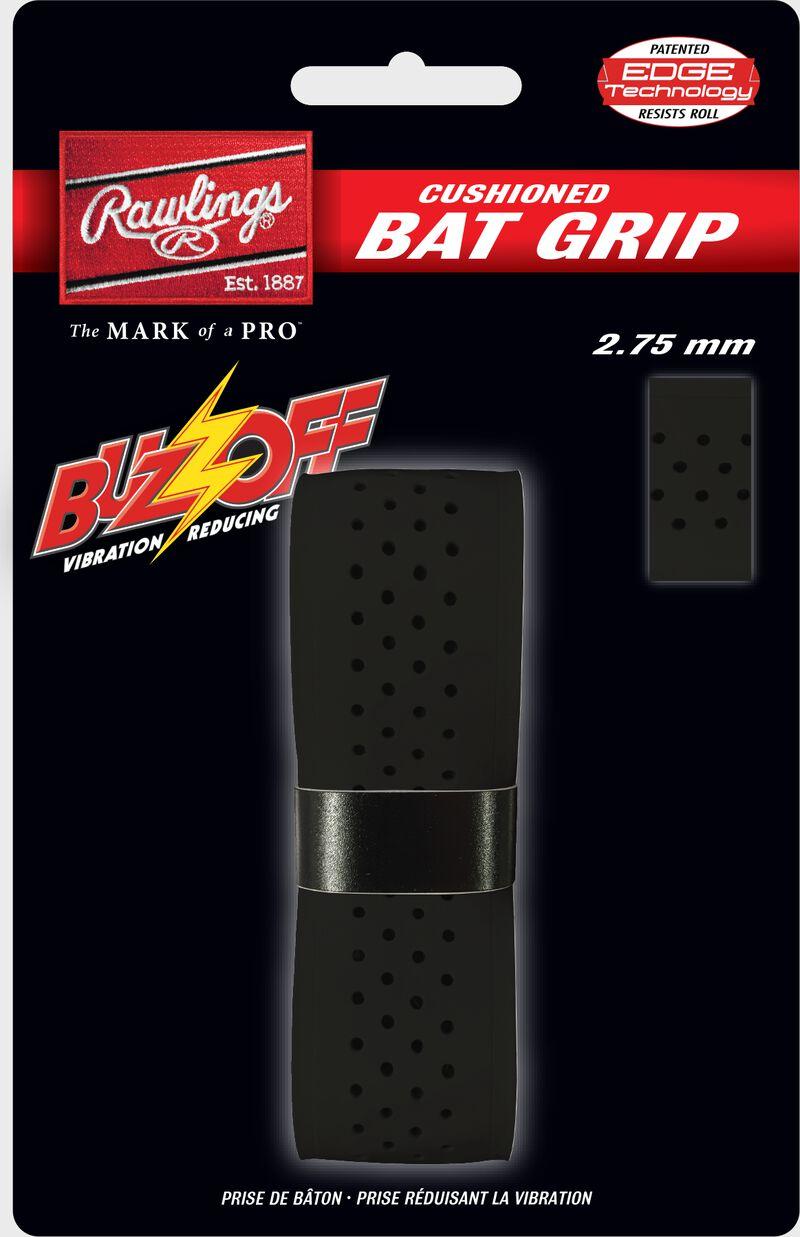 Rawlings Black Buzz Off Bat Grip SKU #BUZZ