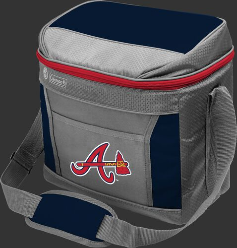 Rawlings Atlanta Braves 16 Can Cooler In Team Colors With Team Logo On Front SKU #03140005111