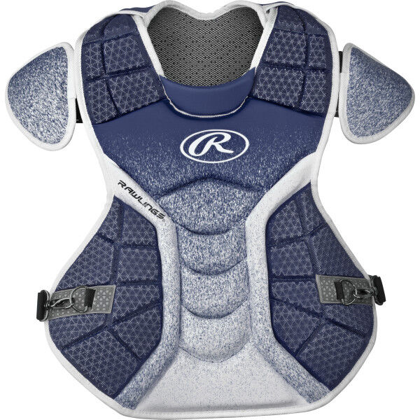 Velo Adult Chest Protector Navy/White