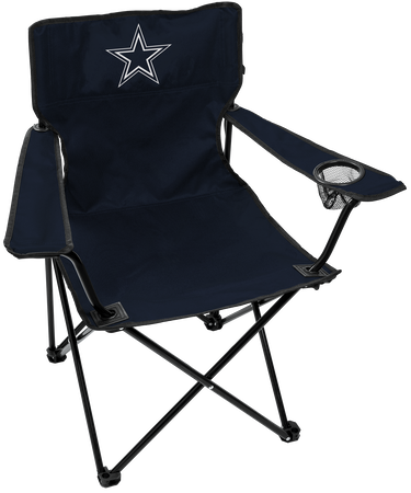 NFL Dallas Cowboys Gameday Elite Chair with team colors and logo on the back