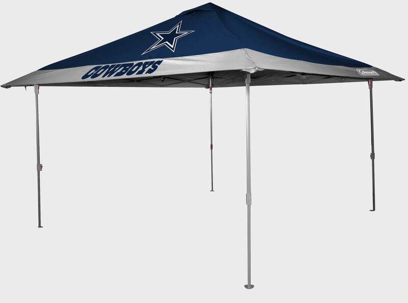 Rawlings Navy and Grey NFL Dalllas Cowboys 10x10 Eaved Canopy With Team Logo and Name SKU #07561065111