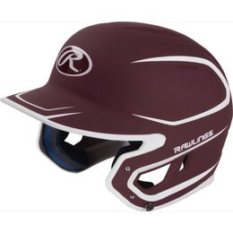 Mach Senior Two-Tone Matte Helmet Maroon