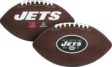 NFL New York Jets Air-It-Out Youth Size Football