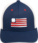 Rawlings Black Clover RBC Clover Nation Fitted Hat image number null