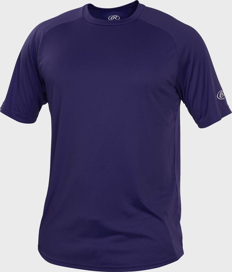 RTT Purple Adult crew neck short sleeve jersey