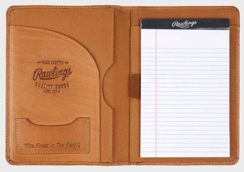 Baseball Stitch Mini Padfolio