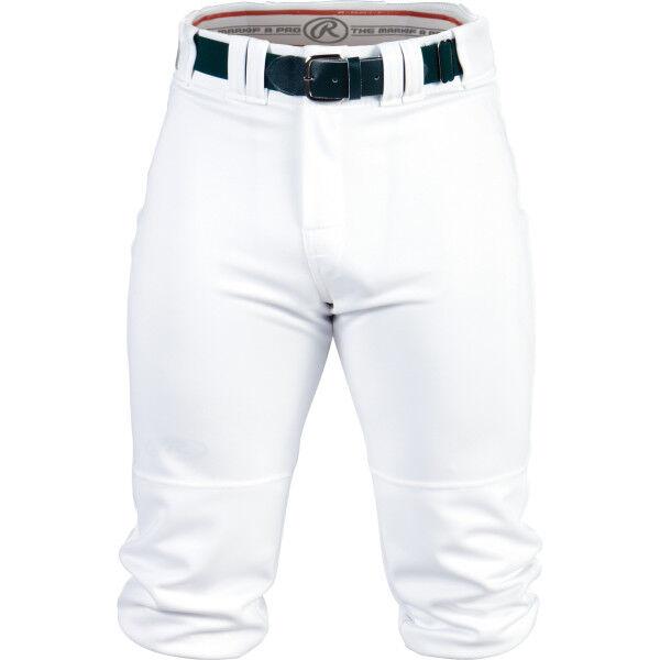 Adult Premium Knee High Pant White