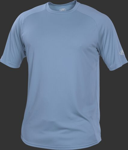 YRTT Youth columbia blue crew neck short sleeve jersey