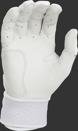 White palm of a WHCSBG adulte Workhorse batting glove