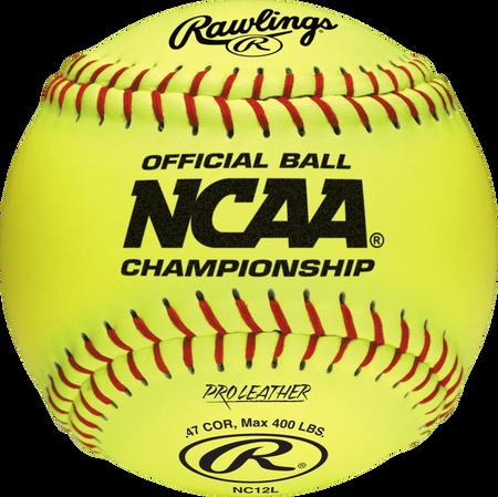 """NCAA Official 12"""" Softballs"""