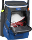 A royal Impulse baseball backpack with a helmet in the main compartment - SKU: IMPLSE-R image number null