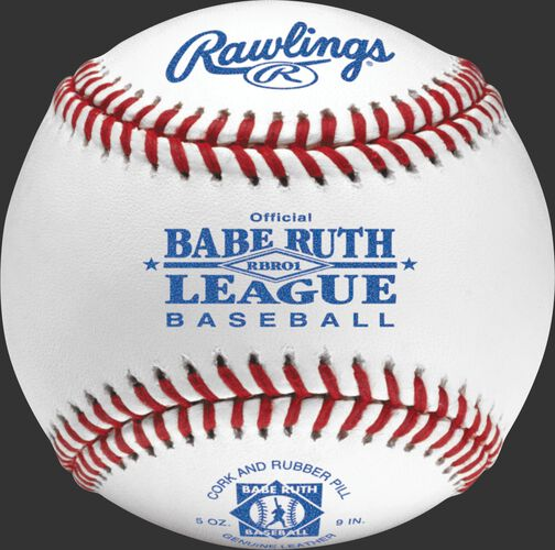 RBRO1 Babe Ruth competition grade baseball with raised seams