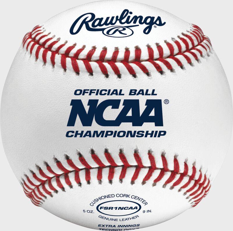 FSR1NCAA NCAA Flat Seam baseball with the Official NCAA logo
