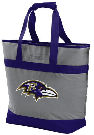 NFL Baltimore Ravens 30 Can Tote Cooler