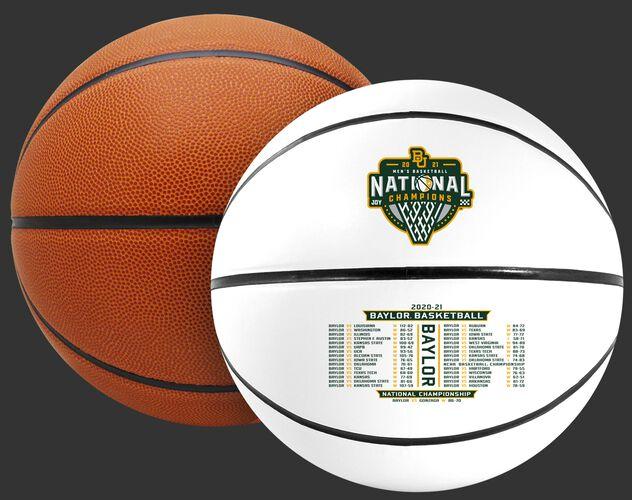A 2021 NCAA Baylor Bears National Champions full size basketball - SKU: 04563040742