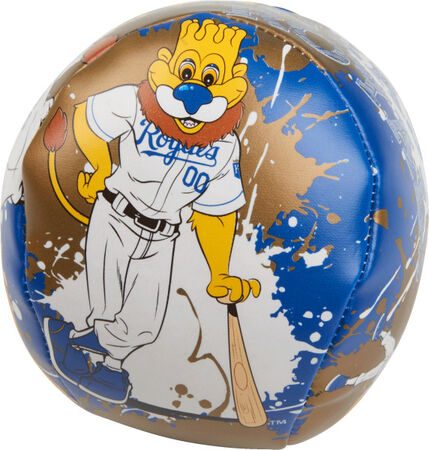 "MLB Kansas City Royals Quick Toss 4"" Softee Baseball"
