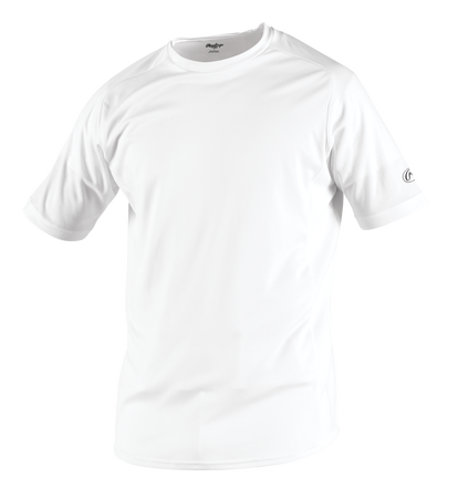 Adult Short Sleeve Shirt White