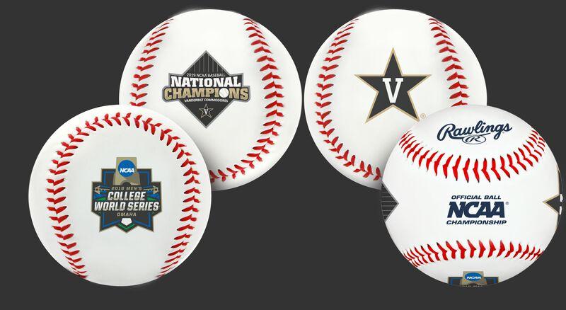 2019 NCAA Vanderbilt Commodores College World Series Champions baseball
