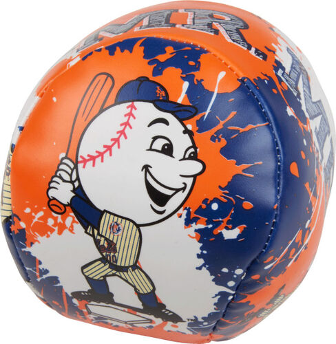 Rawlings New York Mets Quick Toss 4'' Softee Baseball With Team Mascot On Front In Team Colors SKU #01320017112