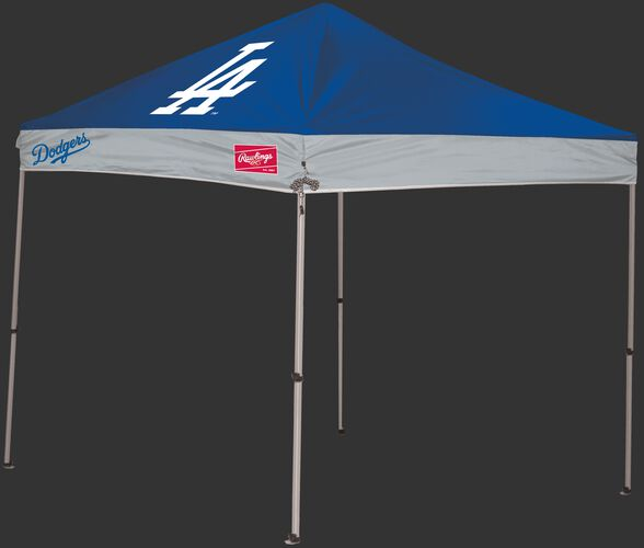 Rawlings Blue and Grey MLB Los Angeles Dodgers 9x9 Canopy Shelter With Team Logo and Name SKU #06250011111