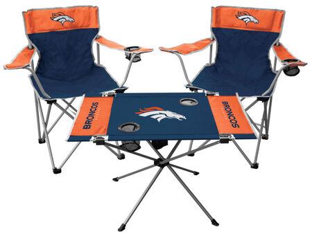 NFL Denver Broncos 3-Piece Tailgate Kit