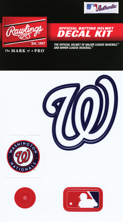 MLB Washington Nationals Decal Kit