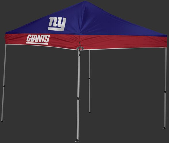 Rawlings Blue and Red NFL New York Giants 9x9 Canopy Shelter With Team Logo and Name SKU #03231078111