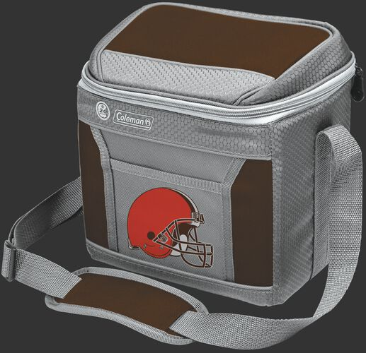 Rawlings Cleveland Browns 9 Can Cooler In Team Colors With Team Logo On Front SKU #03281064111