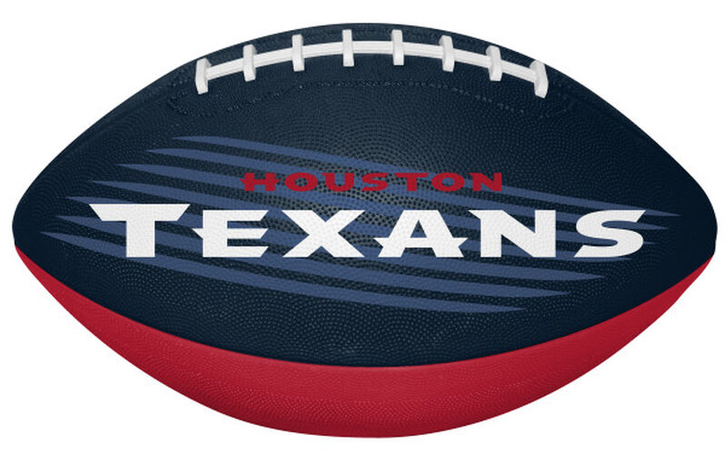 Navy and Red NFL Houston Texans Downfield Youth Football With Team Name SKU #07731093121