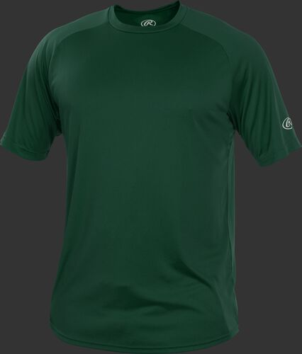 RTT Dark Green Adult crew neck short sleeve jersey
