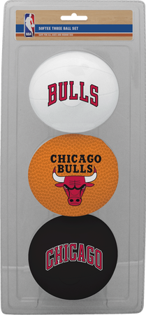 NBA Chicago Bulls Three-Point Softee Basketball Set