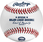 A MLB 2020 Minnesota Twins 60th Anniversary baseball with the Official Major League Baseball stamp - SKU: ROMLBMT60 image number null