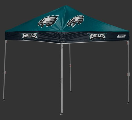 Rawlings Green and Black NFL Philadelphia Eagles 10x10 Canopy Shelter With Team Logo and Name SKU #03221080111