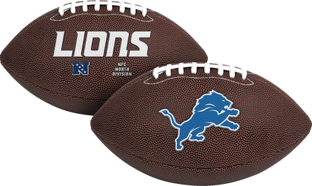 NFL Detroit Lions Air-It-Out youth football with team logo