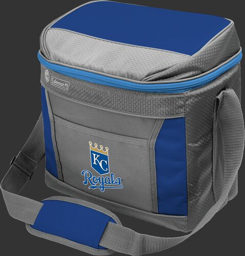 Rawlings Kansas City Royals 16 Can Cooler In Team Colors With Team Logo On Front SKU #03140026111