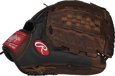 Thumb of a PRO1000-14DMSSP 12.25-inch Heart of the Hide Speed Shell infield/pitcher's glove with a sandlot Vertical Hinge web