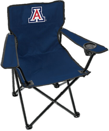 Front of Rawlings Navy Blue NCAA Arizona Wildcats Gameday Elite Chair With Team Logo SKU #00563068111