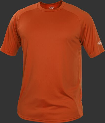 RTT Burnt Orange Adult crew neck short sleeve jersey
