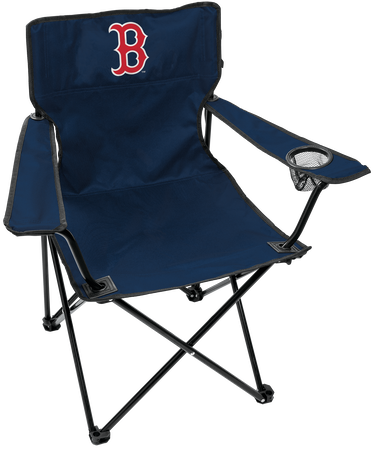 Front of Rawlings Navy Blue MLB Boston Red Sox Gameday Elite Chair With Team Logo SKU #06110024111