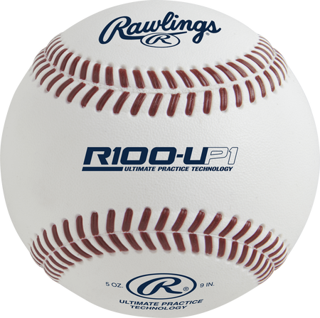 R100-UP1 Ultimate Practice Technology High School baseball with molded seams